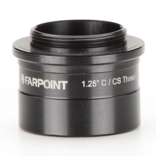 Farpoint 1.25 Inch Nosepiece-to-C/CS Mount Male Adapter